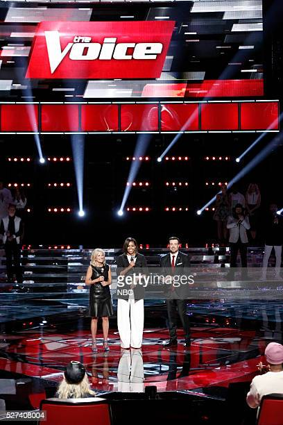 THE VOICE Live Top 10 Episode 1015A Pictured Dr Jill Biden Michelle Obama Carson Daly