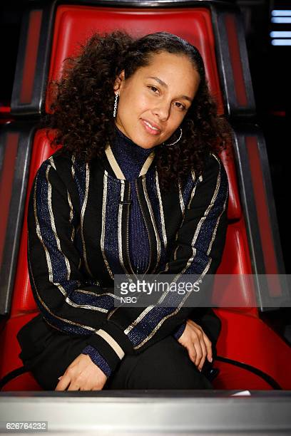THE VOICE 'Live Top 10' Episode 1116A Pictured Alicia Keys