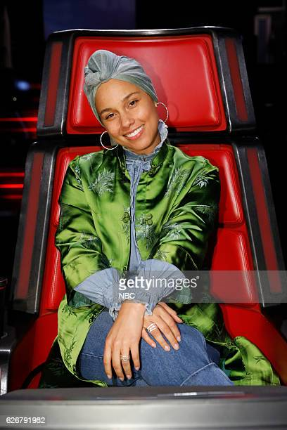 THE VOICE 'Live Top 10' Episode 1116B Pictured Alicia Keys