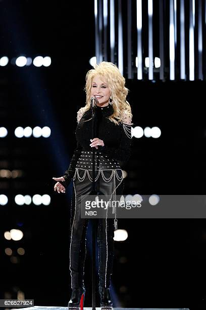 THE VOICE 'Live Top 10' Episode 1116B Pictured Dolly Parton
