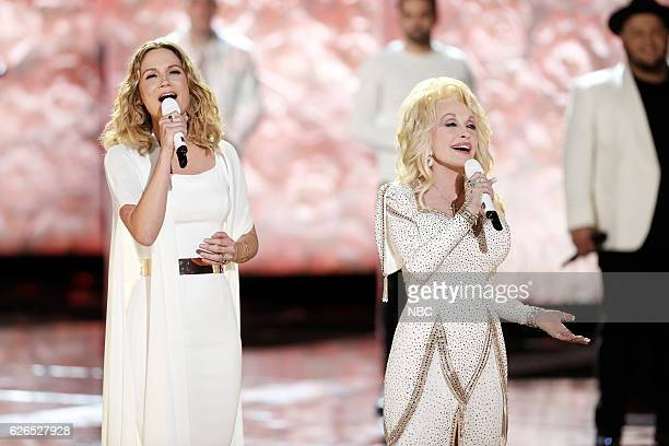 THE VOICE Live Top 10 Episode 1116B Pictured Jennifer Nettles Dolly Parton