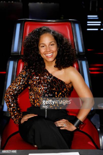 THE VOICE 'Live Top 10' Episode 1217A Pictured Alicia Keys