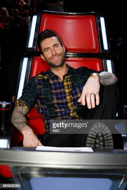 THE VOICE 'Live Top 10' Episode 1319A Pictured Adam Levine