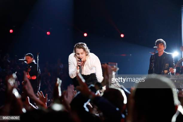 THE VOICE 'Live Top 10' Episode 1417B Pictured 5 Seconds of Summer