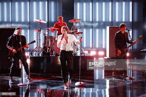THE VOICE Live Top 10 Episode 1417B Pictured 5 Seconds of Summer