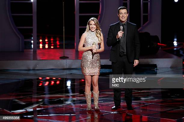 THE VOICE Live Top 10 Episode 916A Pictured Emily Ann Roberts Carson Daly