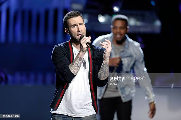 THE VOICE Live Top 10 Episode 916B Pictured Adam Levine with R City