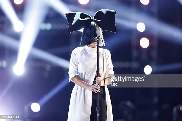 THE VOICE Live Top 10 Episode 916B Pictured Sia