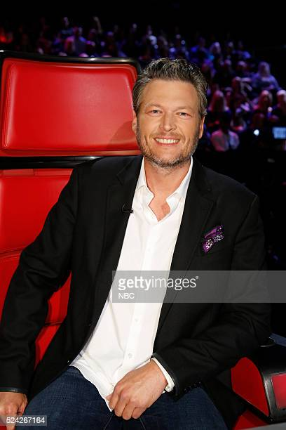 THE VOICE Live Top 11 Episode 1014A Pictured Blake Shelton