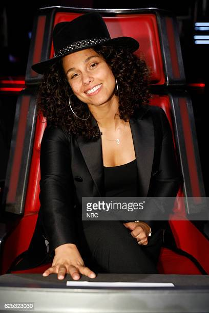 THE VOICE 'Live Top 11' Episode 1115B Pictured Alicia Keys