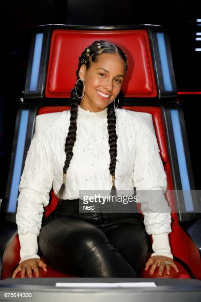 THE VOICE 'Live Top 11' Episode 1216A Pictured Alicia Keys