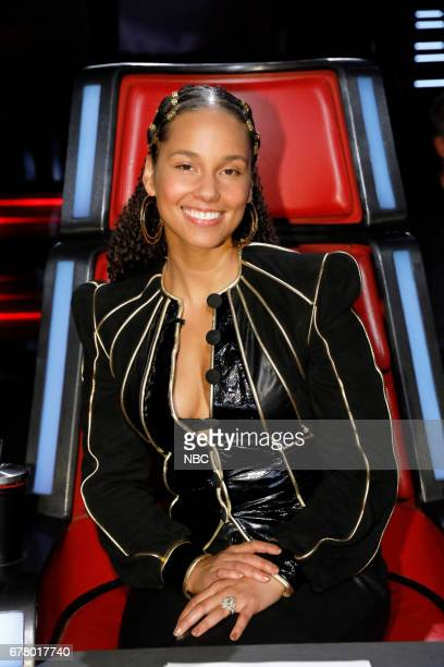 THE VOICE 'Live Top 11' Episode 1216B Pictured Alicia Keys