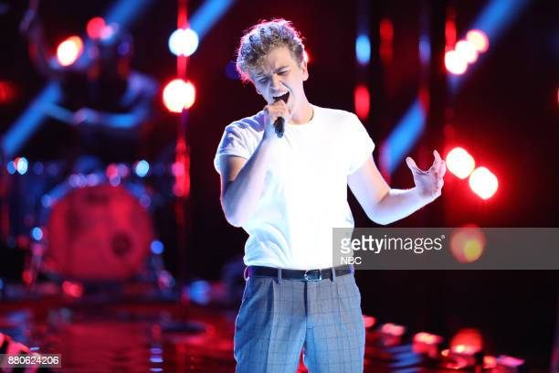 THE VOICE 'Live Top 11' Episode 1318A Pictured Noah Mac