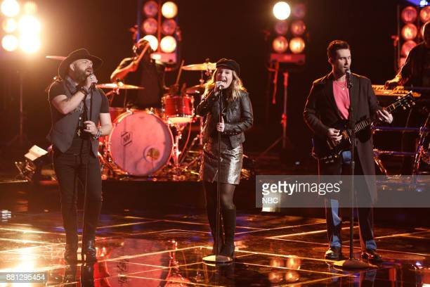 THE VOICE Live Top 11 Episode 1318B Pictured Adam Cunningham Addison Agen Adam Levine