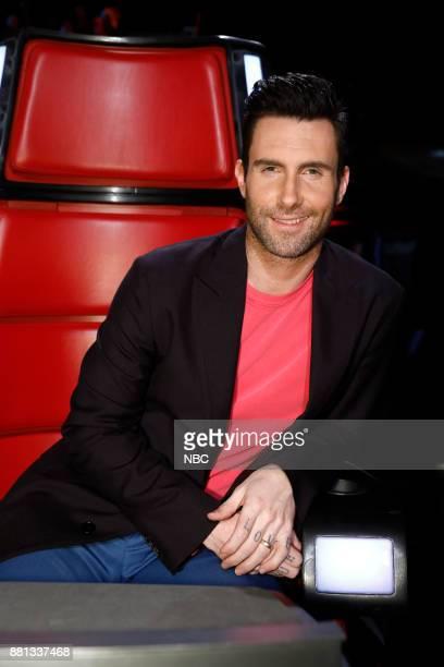 THE VOICE 'Live Top 11' Episode 1318B Pictured Adam Levine