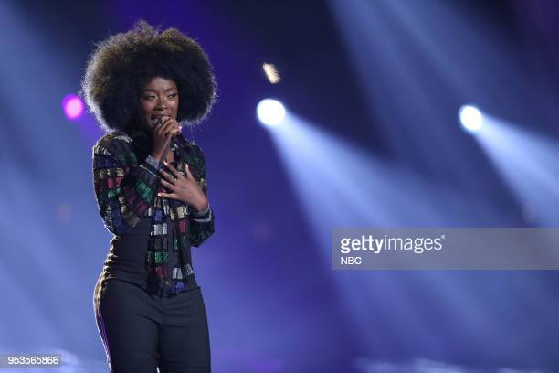THE VOICE Live Top 11 Episode 1416B Pictured Christiana Danielle