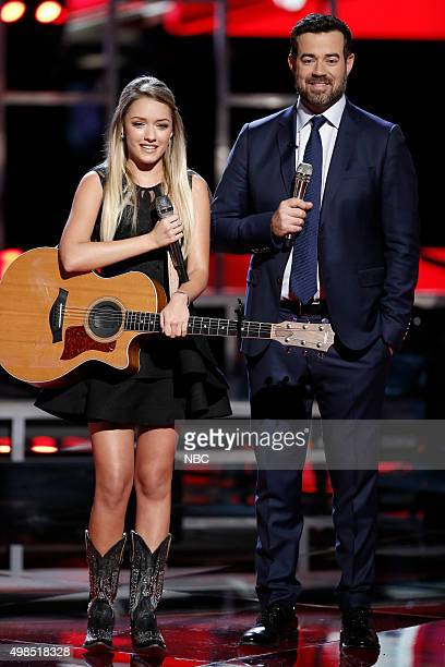 THE VOICE Live Top 11 Episode 915A Pictured Emily Ann Roberts
