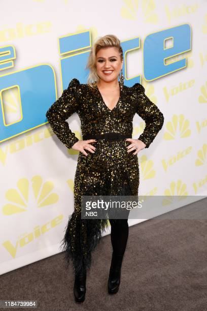 THE VOICE Live Top 11 Performances Episode 1717A Pictured Kelly Clarkson