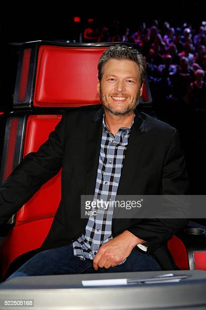 THE VOICE Live Top 12 Episode 1013B Pictured Blake Shelton