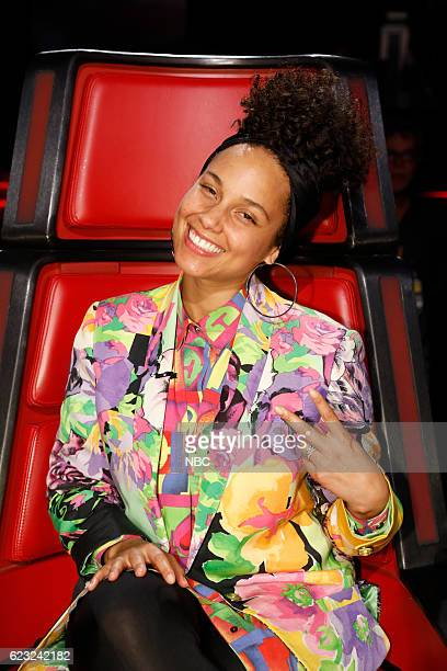 THE VOICE 'Live Top 12' Episode 1114A Pictured Alicia Keys