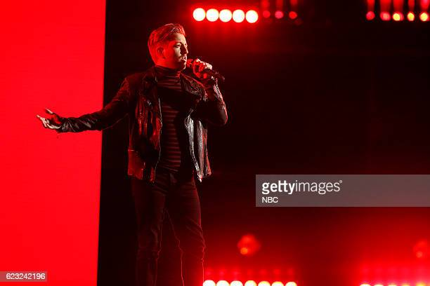 """Live Top 12"""" Episode: 1114A -- Pictured: Billy Gilman --"""
