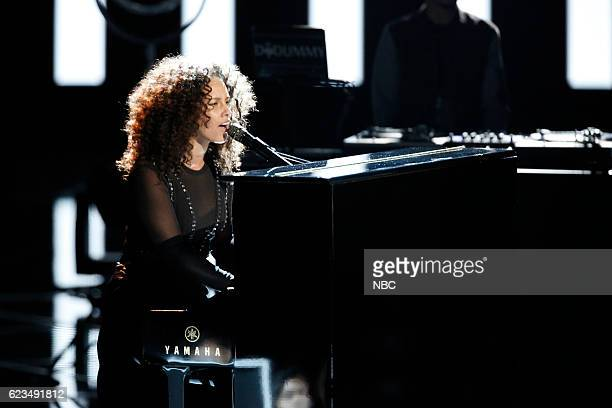 THE VOICE Live Top 12 Episode 1114B Pictured Alicia Keys