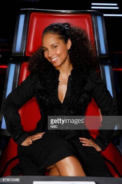 THE VOICE 'Live Top 12' Episode 1215A Pictured Alicia Keys