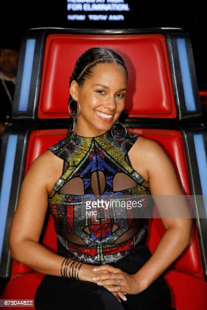 THE VOICE 'Live Top 12' Episode 1215B Pictured Alicia Keys