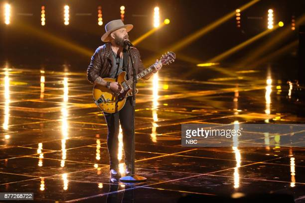 THE VOICE Live Top 12 Episode 1317B Pictured Adam Cunningham