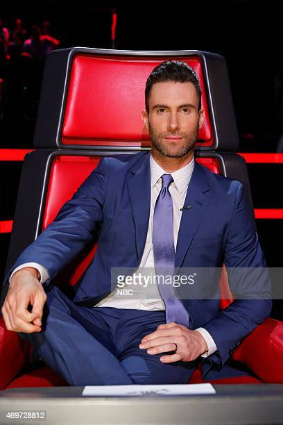 THE VOICE 'Live Top 12' Episode 813B Pictured Adam Levine