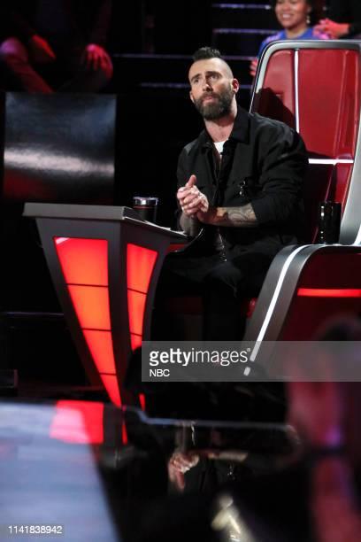 "Live Top 13"" Episode 1614A -- Pictured: Adam Levine --"