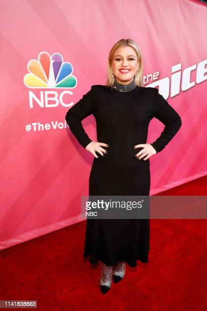 THE VOICE Live Top 13 Episode 1614A Pictured Kelly Clarkson
