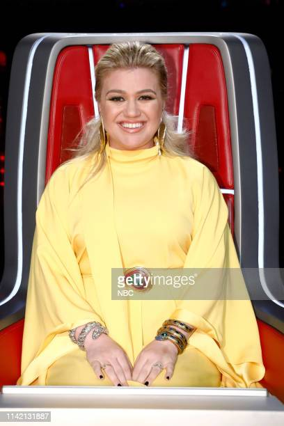 THE VOICE Live Top 13 Results Episode 1614B Pictured Kelly Clarkson