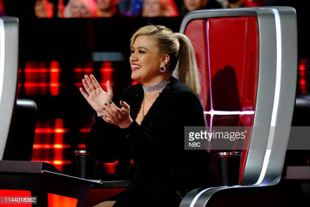 THE VOICE Live Top 8 Episode 1615A Pictured Kelly Clarkson
