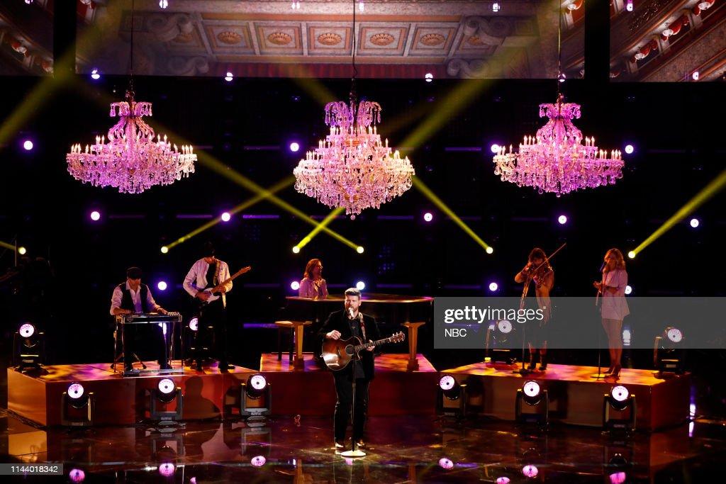 "CA: NBC's ""The Voice"" - Live Top 8"