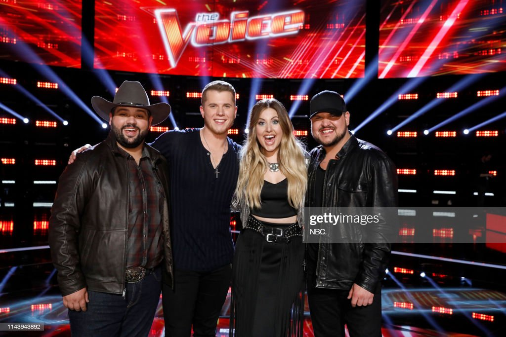 "CA: NBC's ""The Voice"" - Live Top 8 Results"