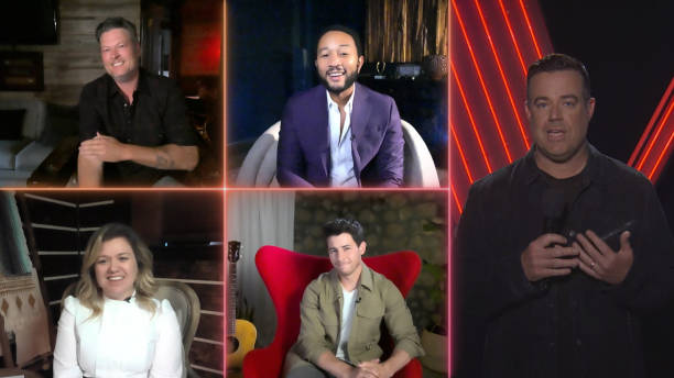 "CA: NBC'S ""The Voice"" - ""Live Top 9 Results"" Episode 1812B"