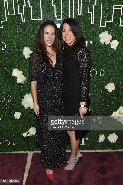 Livelihood founder Ashley Biden and Erica Razze attend the GILT and Ashley Biden celebration of the launch of exclusive Livelihood Collection at...
