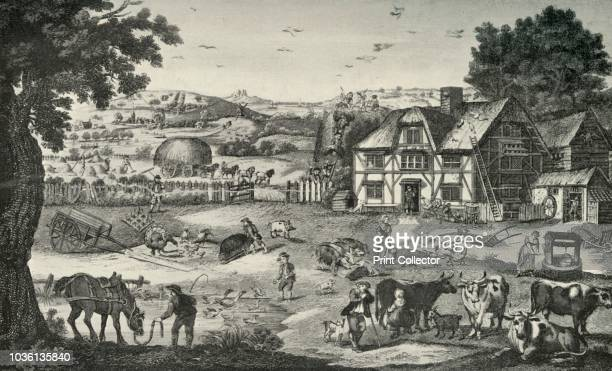 Lively Activity on an EighteenthCentury Farm' Illustration from A History of Everyday Things in England Done in four parts of which this is the third...