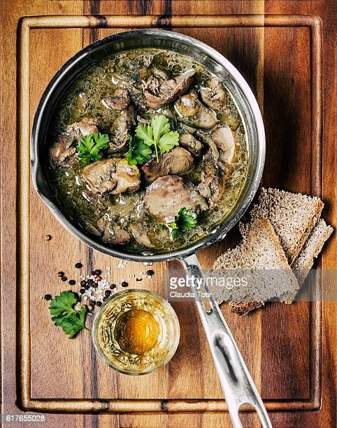 liver dish - liver stock photos and pictures