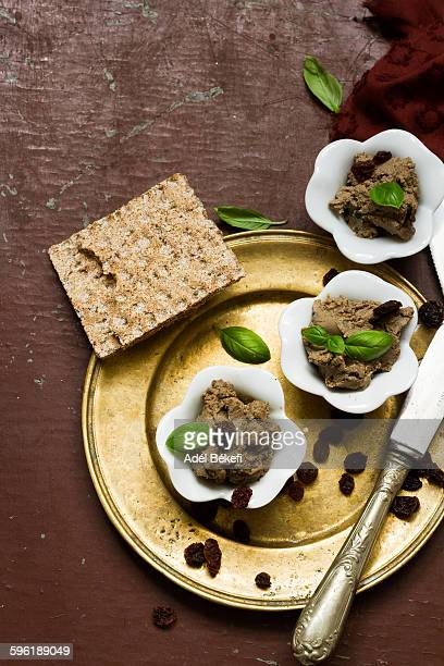 liver pate - pate stock photos and pictures