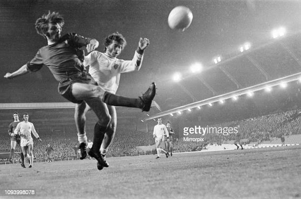 Liverpool 00 Bayern Munich European Cup Winners Cup 2nd round 1st leg match at Anfield Wednesday 20th October 1971 picture shows Steve Heighway of...