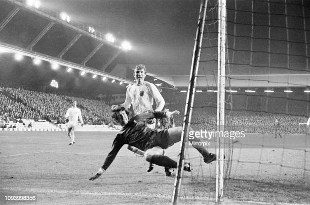 Liverpool 00 Bayern Munich European Cup Winners Cup 2nd round 1st leg match at Anfield Wednesday 20th October 1971 picture shows mouth action in...