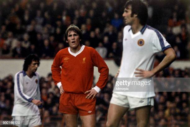 Liverpool 12 Aston Villa league match at Anfield Saturday 5th November 1977 Kenny Dalglish