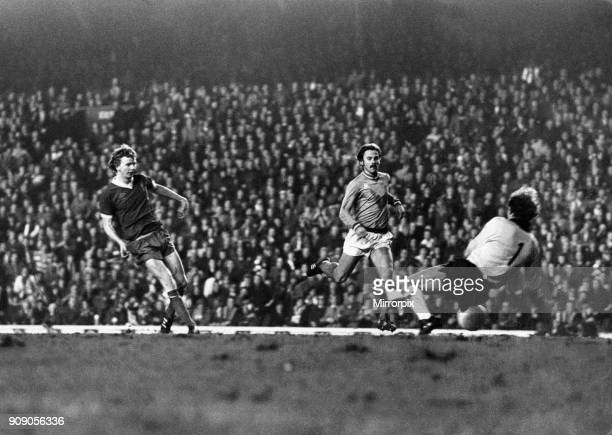 Liverpool 3 v Saint-Etienne 1 European Cup Quarter-finals 2nd leg At Anfield. 'Super-Sub' David Fairclough comes off the bench to score goal number...