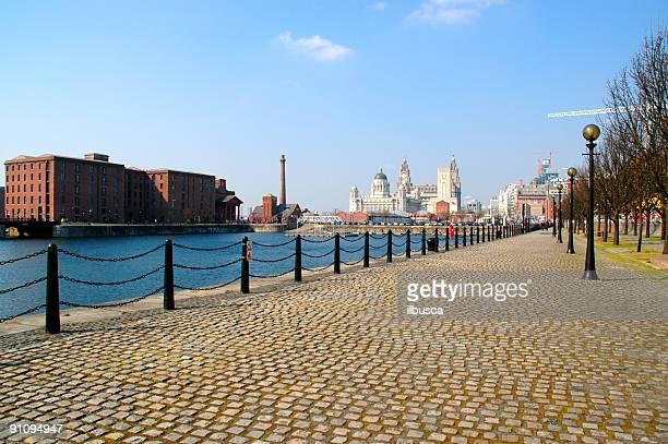Liverpool Albert Dock and Liver Building