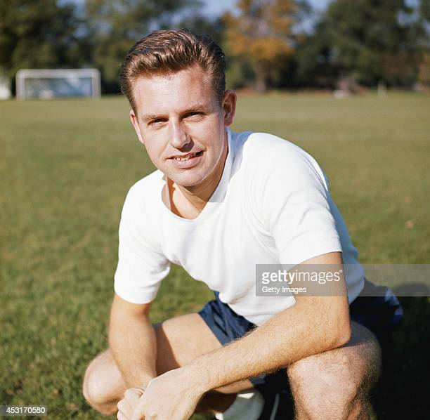 Liverpool and England midfield player Gordon Milne pictured circa 1963