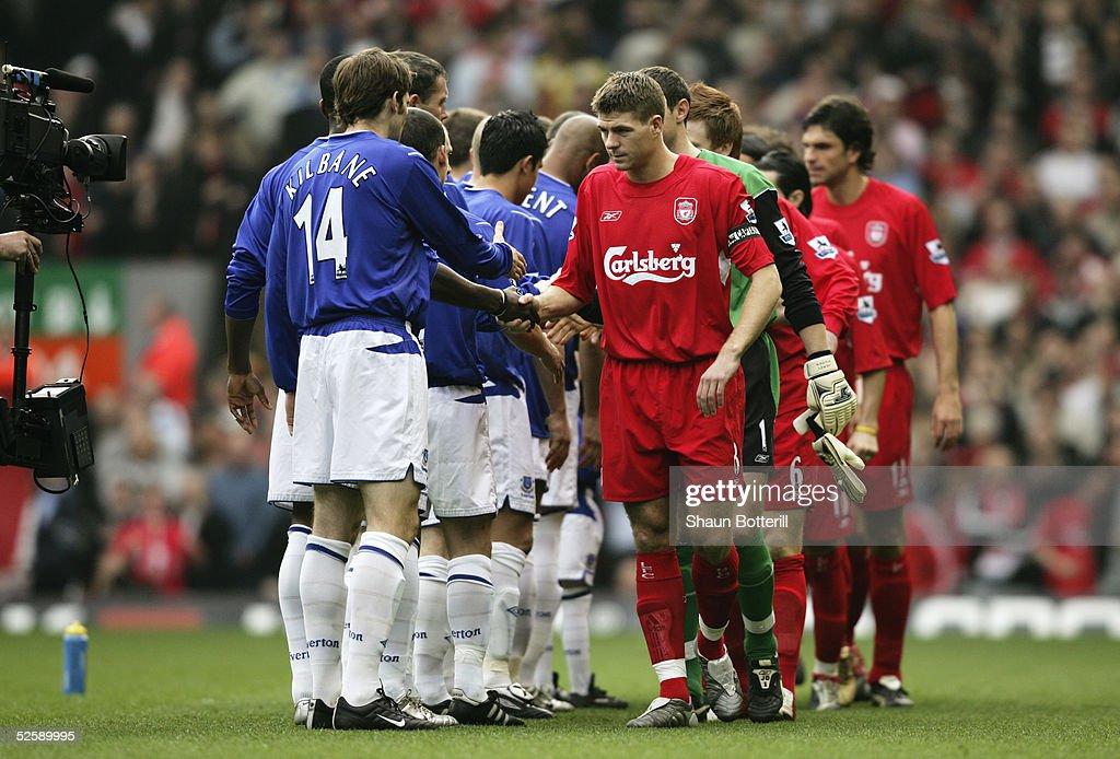 Liverpool v Everton : ニュース写真