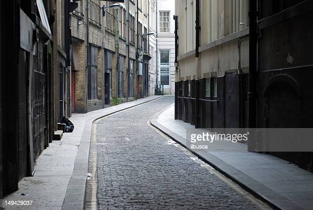 liverpool backstreet - narrow stock pictures, royalty-free photos & images