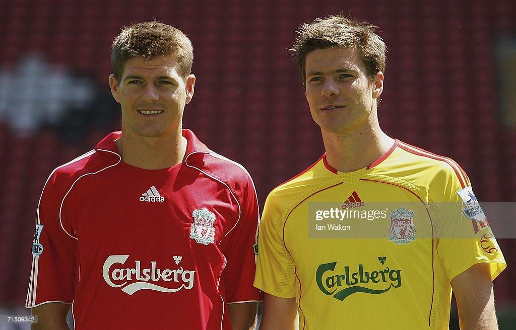 Liverpool FC Kit Launch : News Photo